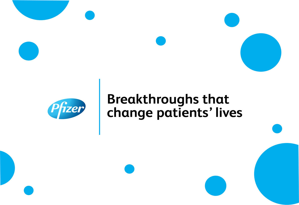 Breakthroughs that change patients lives - Pfizer